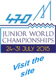 Visit the official 470 juniors worlds 2015 site