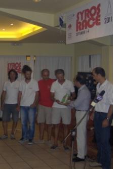 Το GranmaX χρυσό στο Syros Race