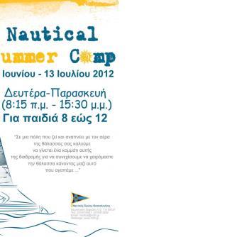 Poster Nautical Summer Camp 2012