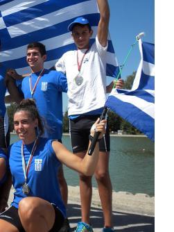 Οι Αθλητές του ΝΟΘ στους Βαλκανικούς Κωπηλασίας 2012