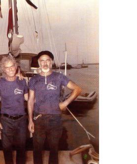 Ο ωκεανοπόρος Σπύρου Παναγιώτης με τον Δημήτρη Φυντανίδη, τον αείμνηστο Τάκη Πρι
