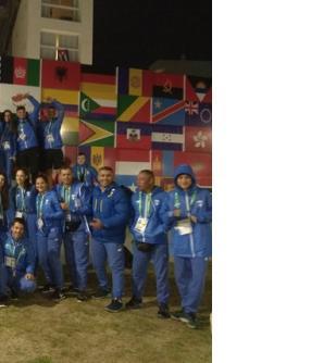 Ολυμπιακοί Αγώνες Νεότητας. Σημαιοφόρος η Χριστίνα Μπούρμπου