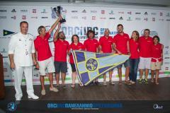 Το πλήρωμα του Granmax παίρνει το κύπελλο του 2ου στο Πανελλήνιο ORCi 2015