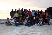Μαθητές της σχολής ανοιχτής θάλασσας του ΝΟΘ.